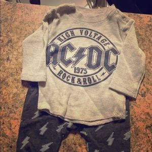 AC/DC OUTFIT ❤️2 for $10❤️